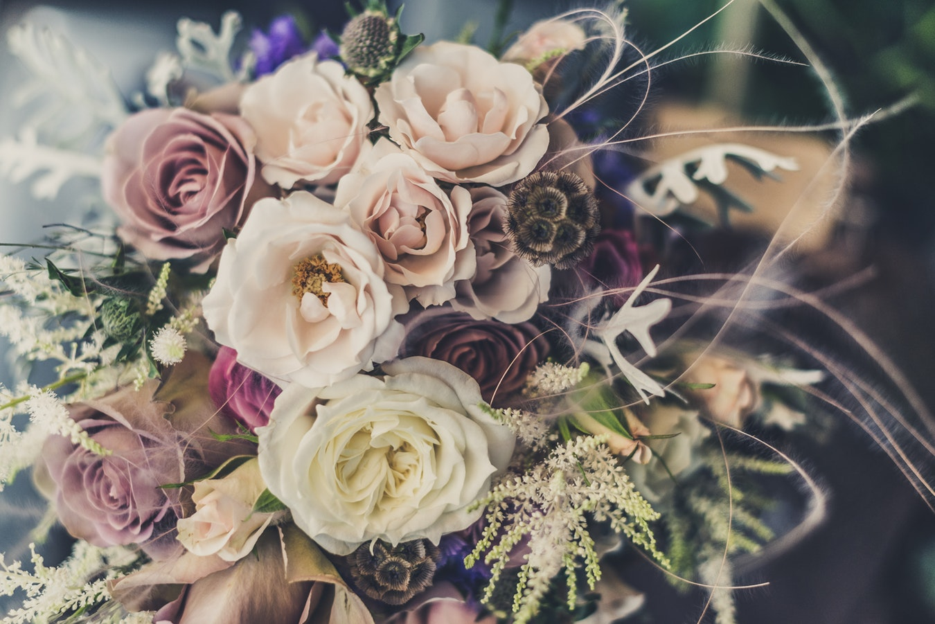 Preserved wedding bouquets can last a lifetime