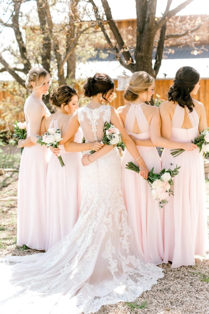 Local bridal shops will outfit your wedding