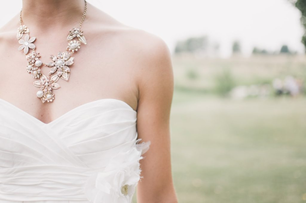 Unique bridal jewelry for the big day