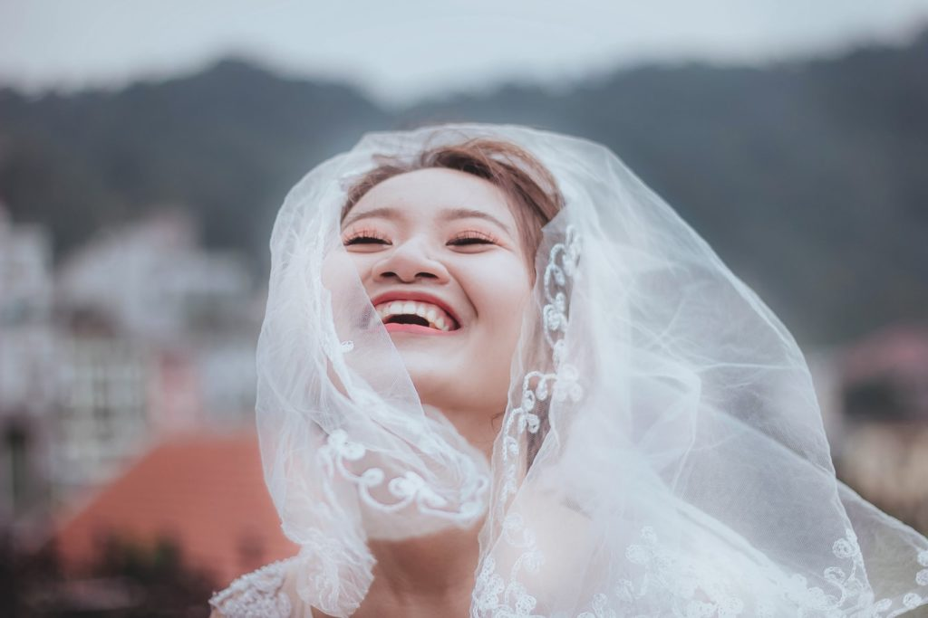 Complete your look with a beautiful veil
