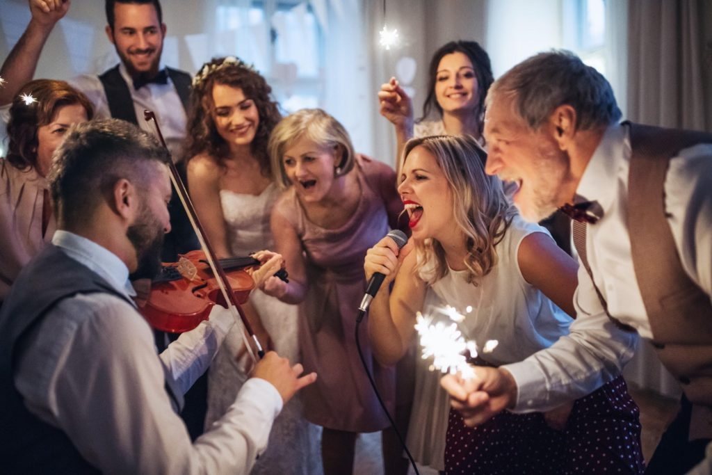Keep the dance floor full at your wedding