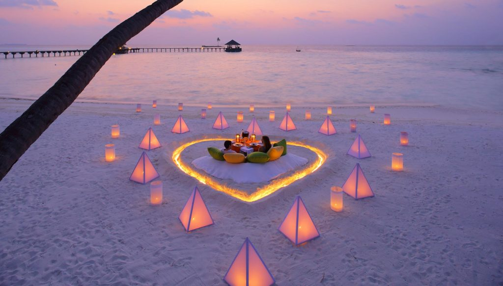 Experience luxury in the Maldives