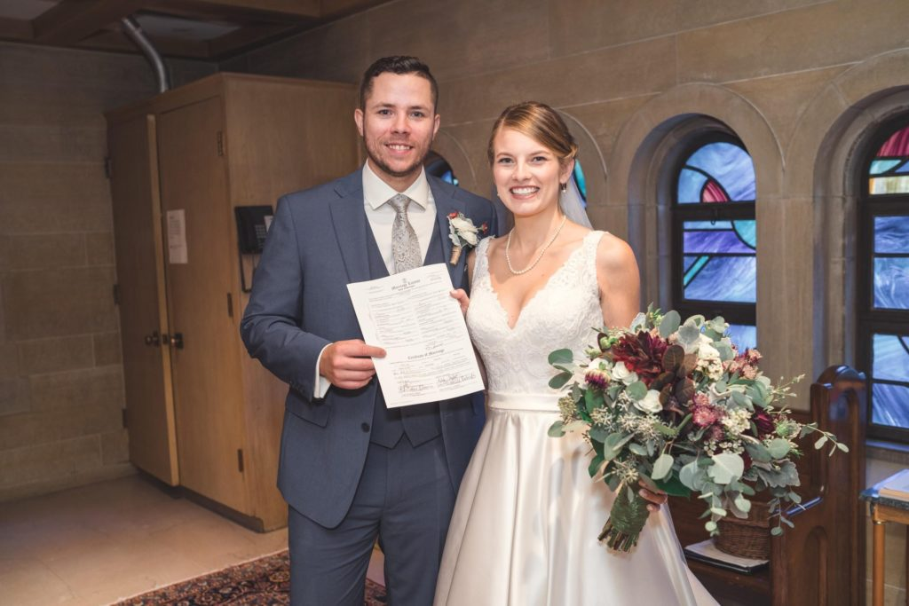 etting your marriage license