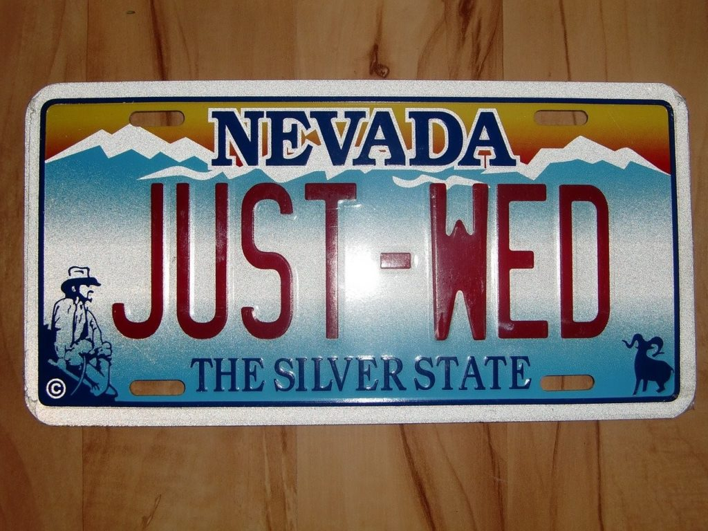 Married in Nevada