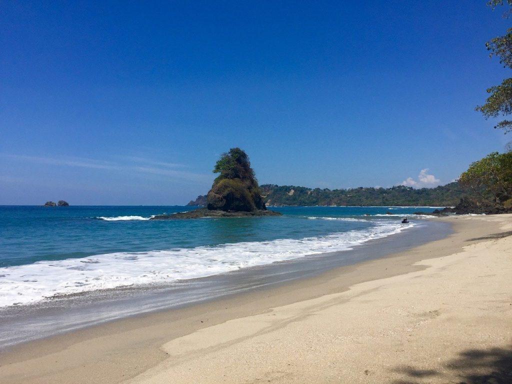 Surfing at Playa Grande, Costa Rica