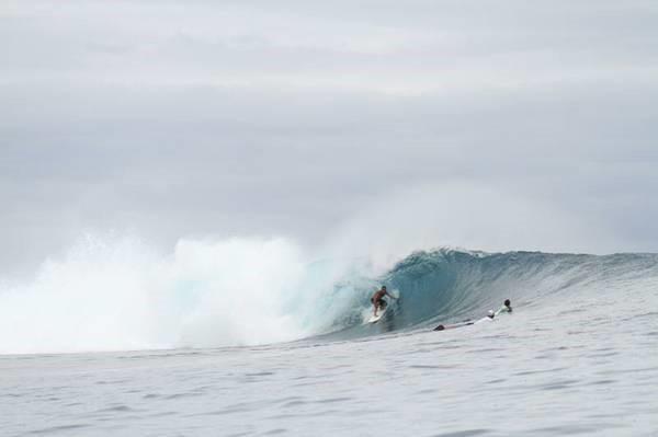 Surfing in Ragland New Zealand