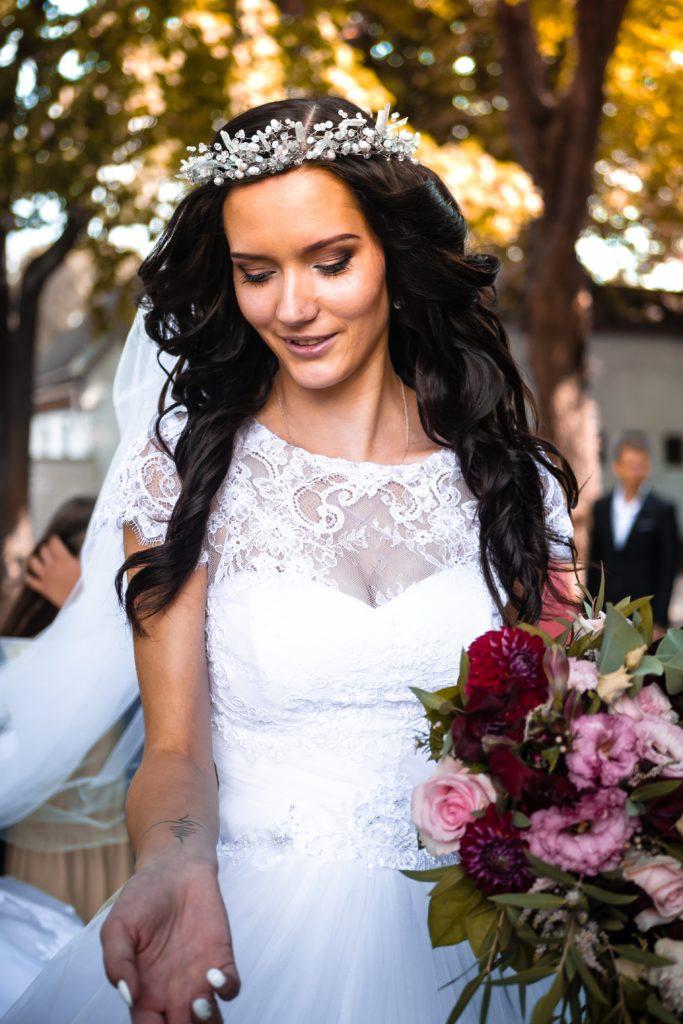 Wedding day splendor