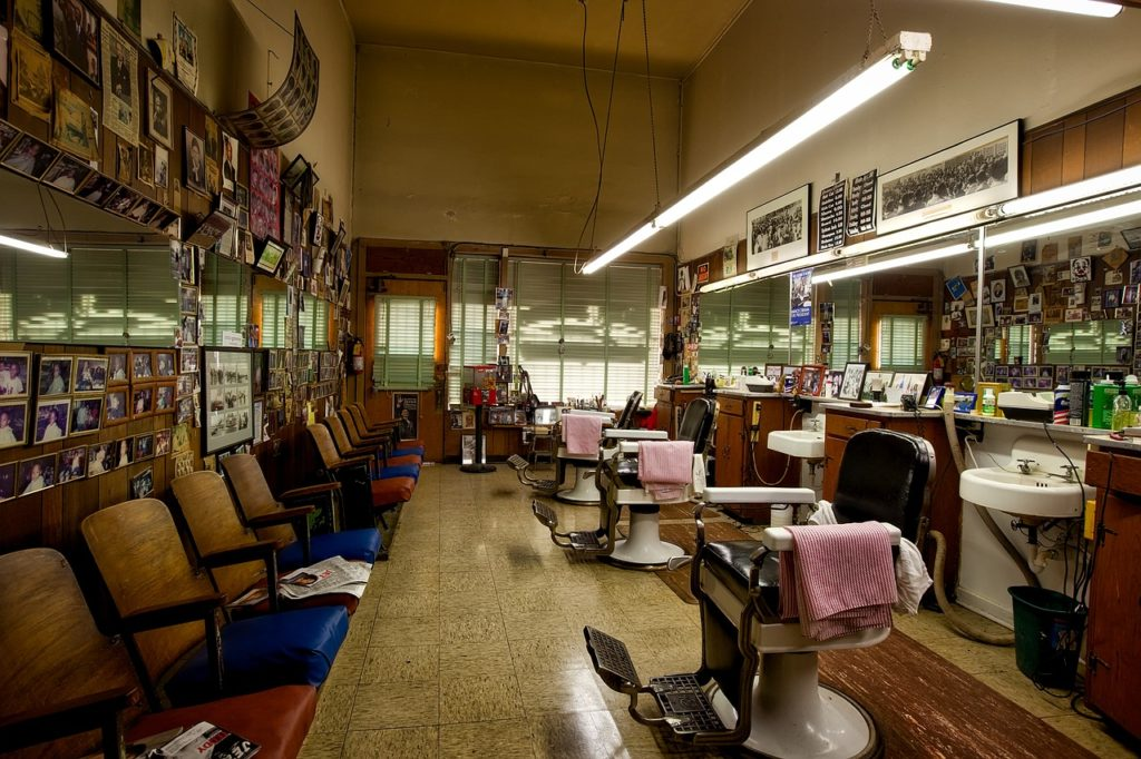 How clean is the barber shop?