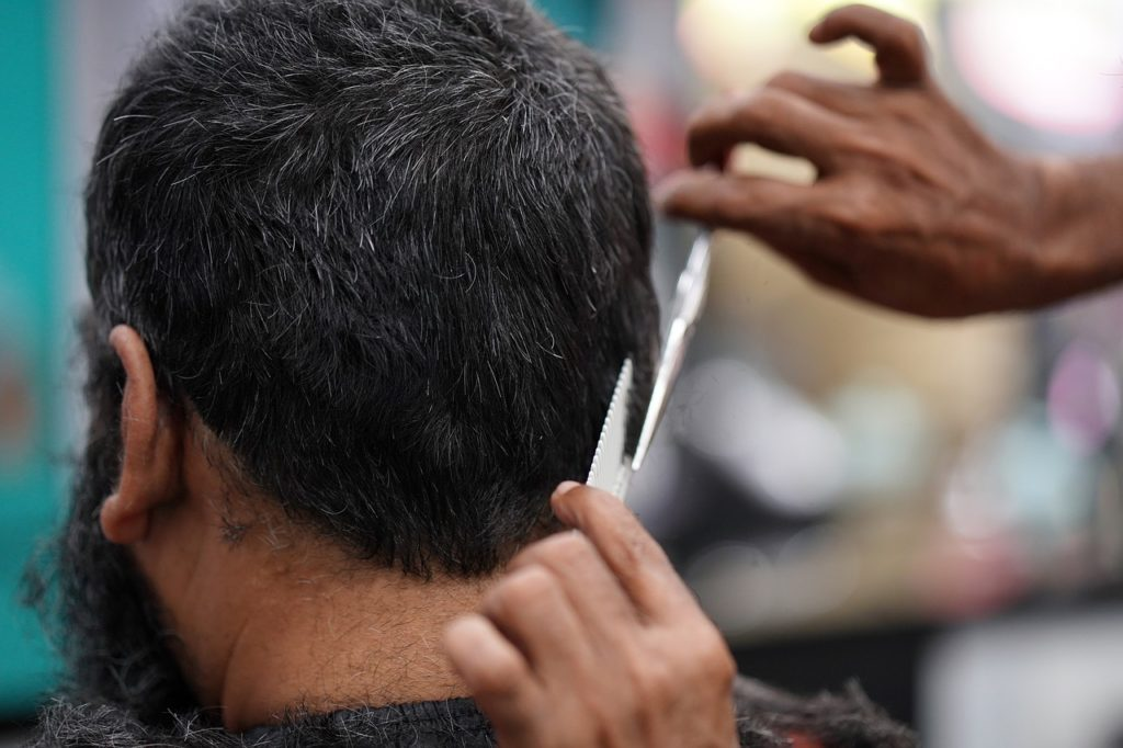 Trying a new barber