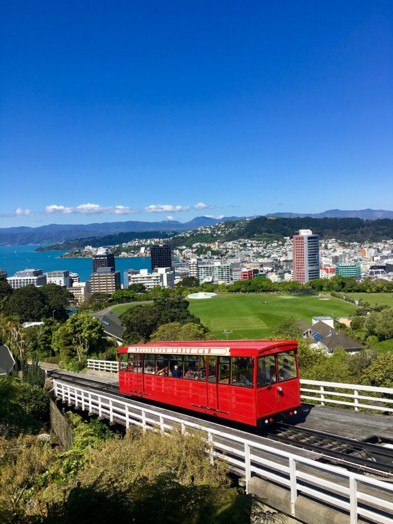 Cable car at Wellington