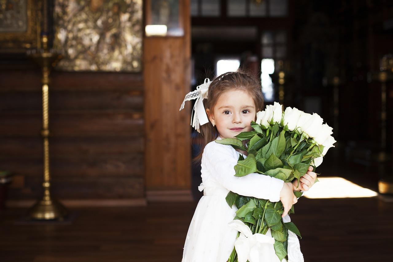 Flower girl fashion
