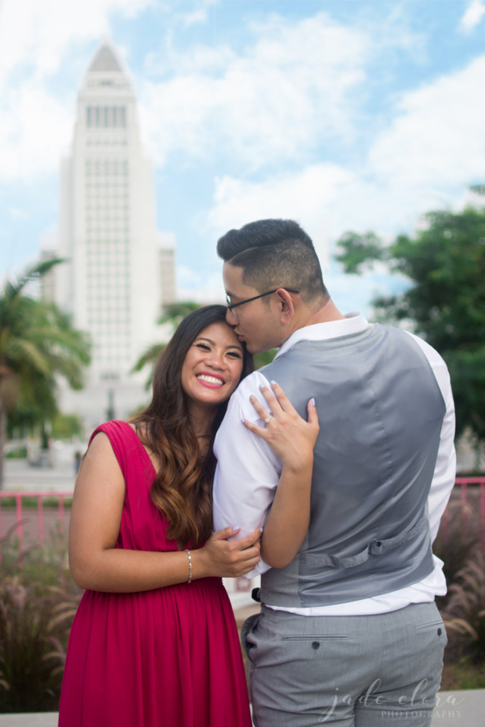 Opt for engagement photos