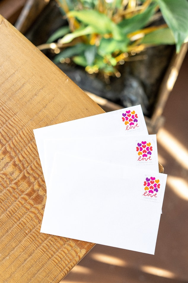 Stamping the invitation