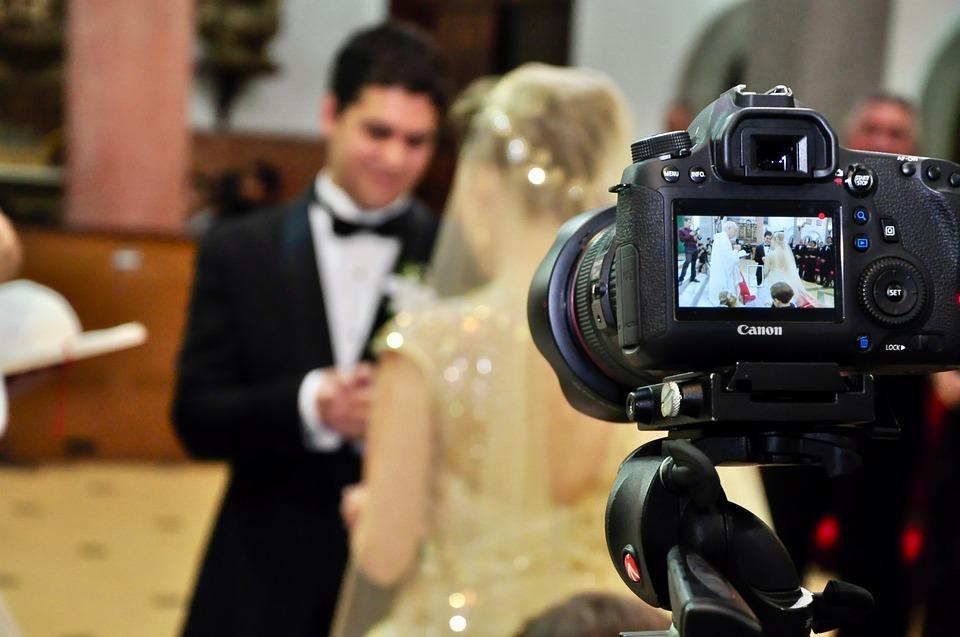 Your wedding video in progress