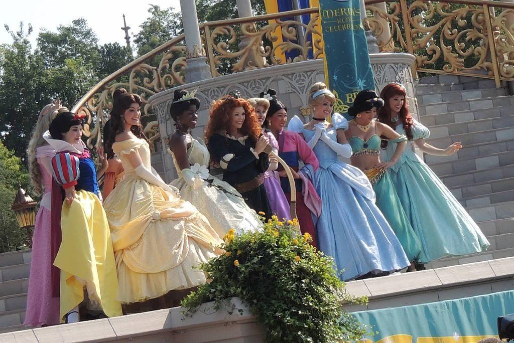 Disney Princess on parade