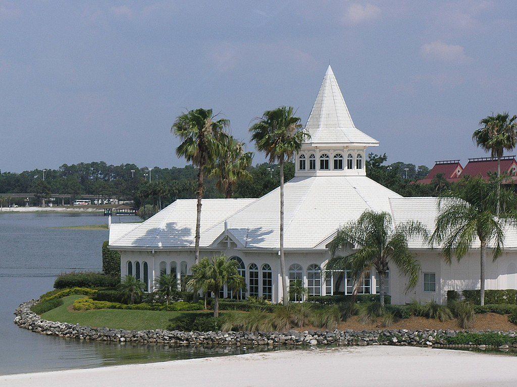 Wedding Pavilion at Disney World