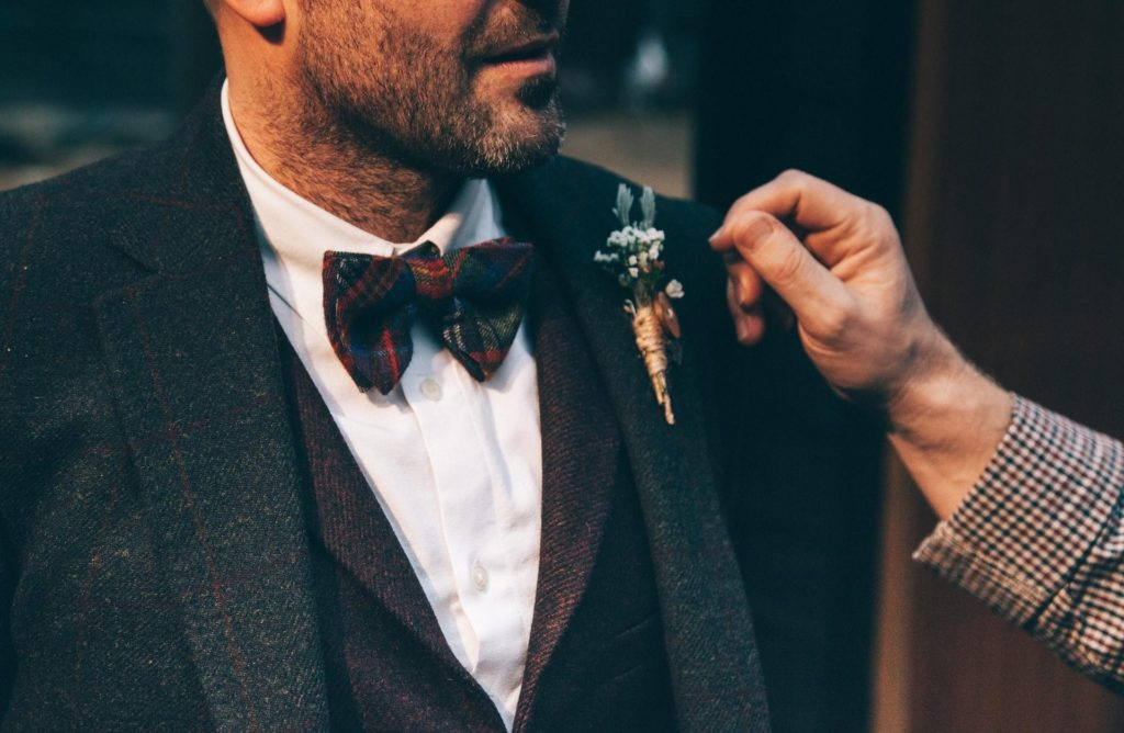 Informal wedding gear for the groom