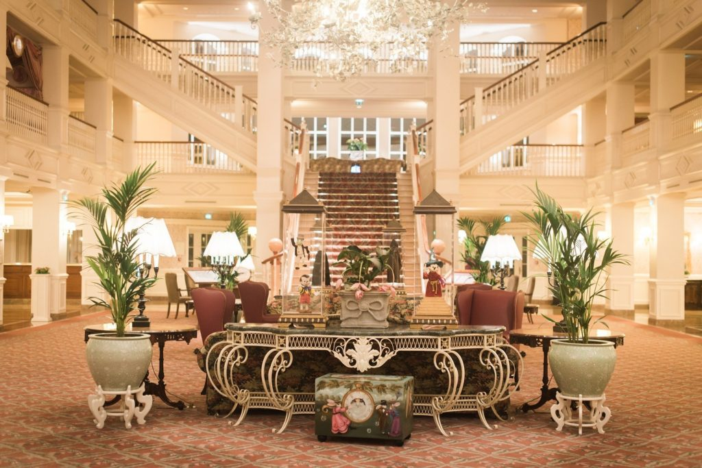Magic of a Disney hotel