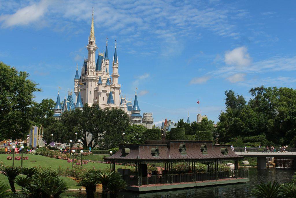 Walt Disney WOlrd with castle