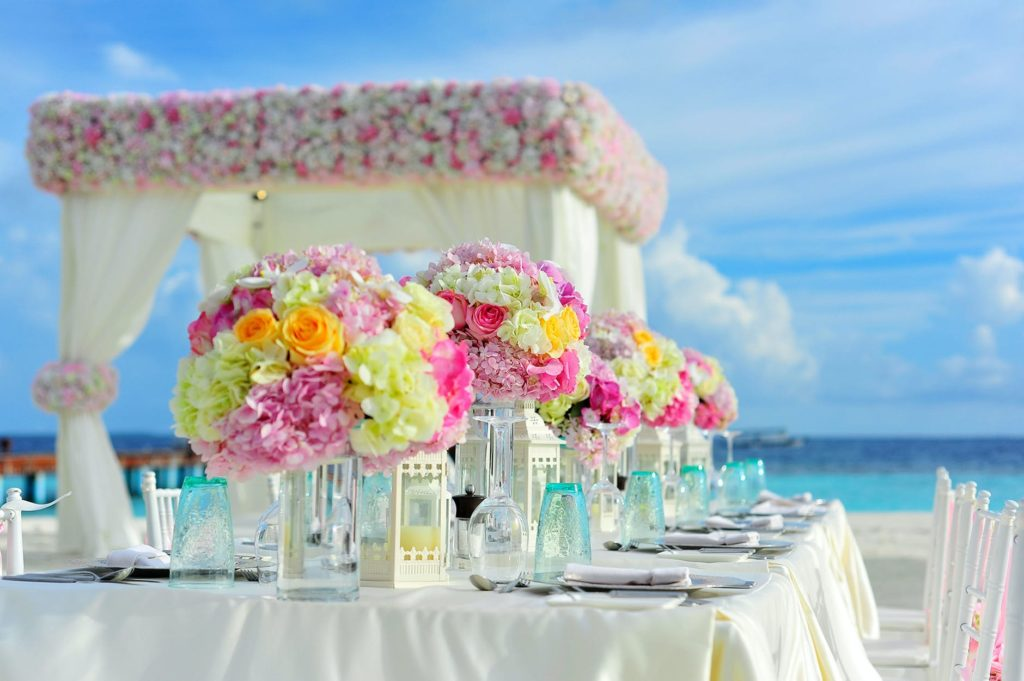 Set the stage with wedding furntiture rentals Photo by Asad