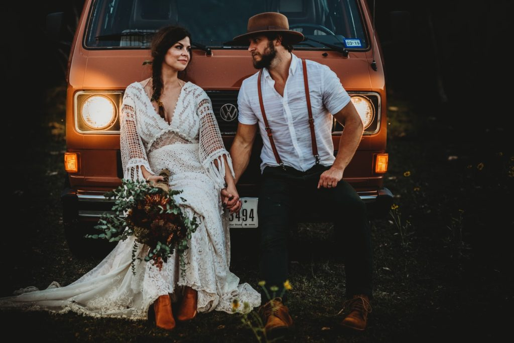 Non-traditional wedding