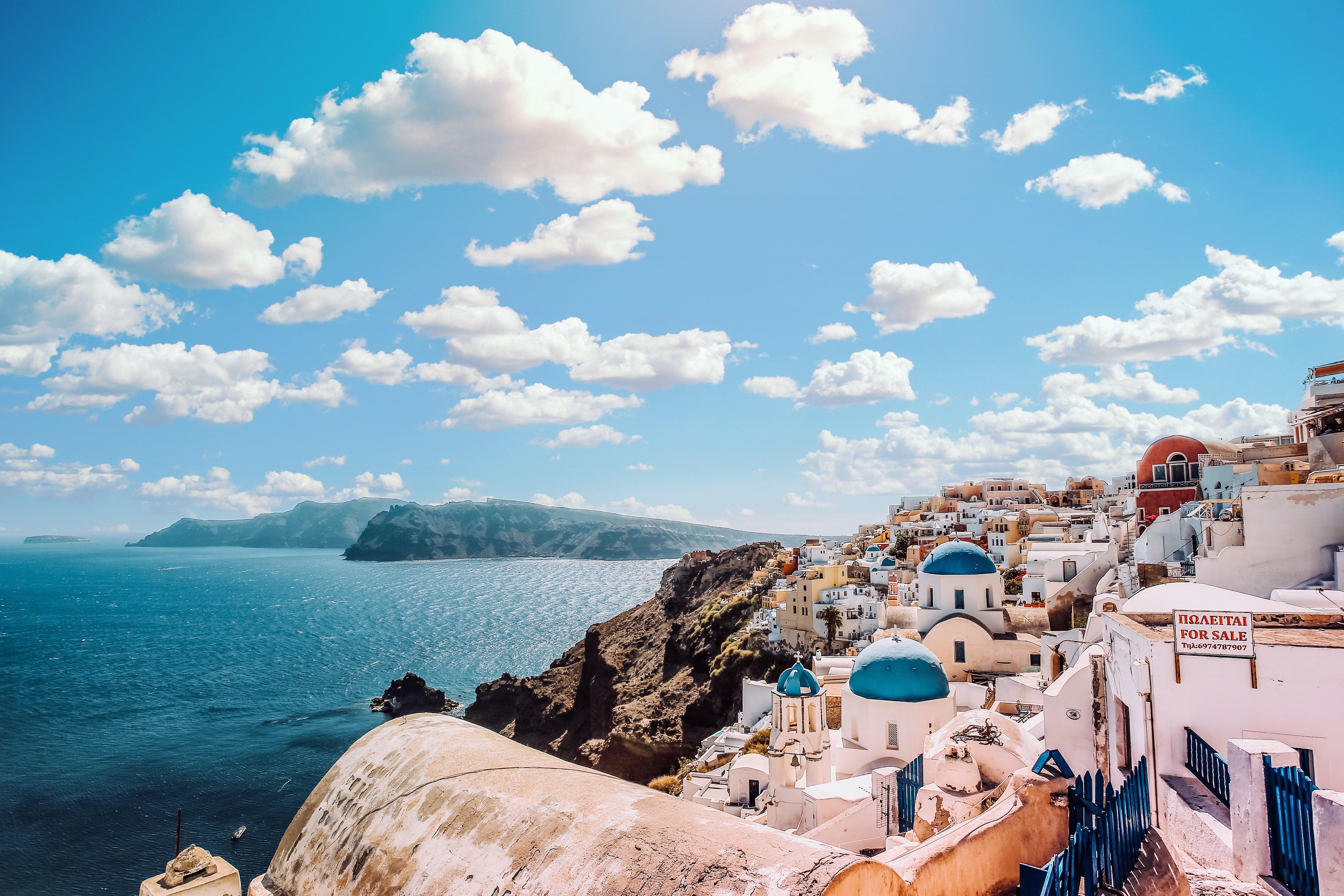 Honeymoon-at-Home Date Night, Destination: Santorini, Greece