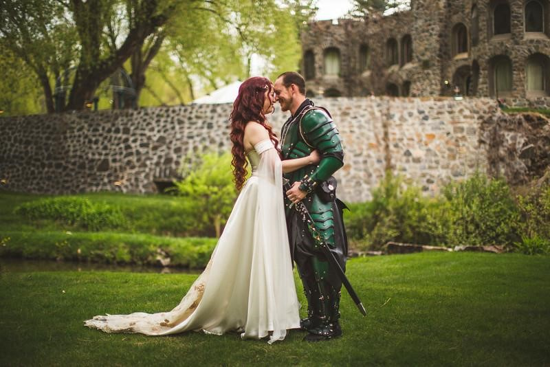 gamers get married in costume