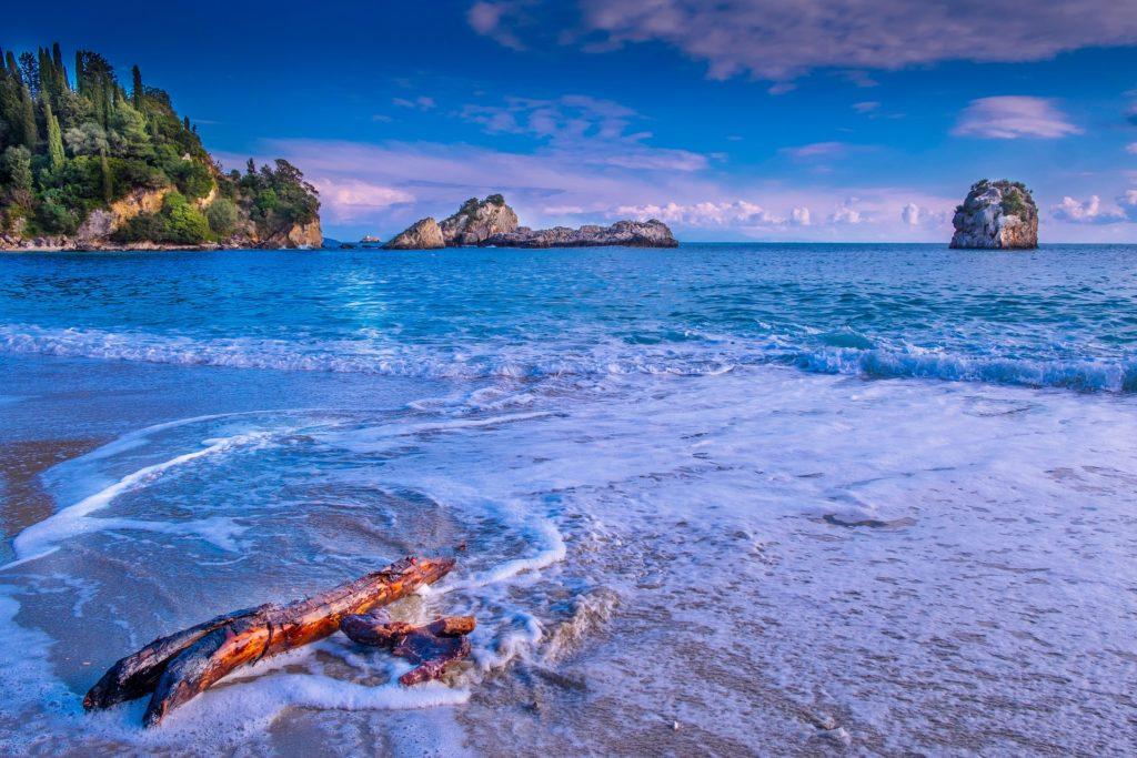Greek sea island