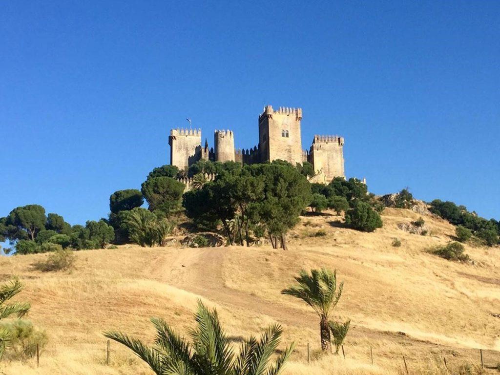 Road to Castillo de Almodóvar