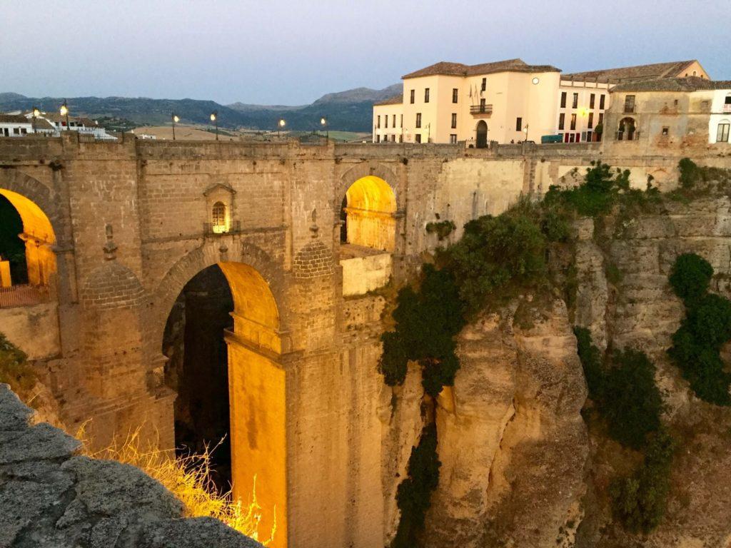 Roman Bridge across the El Tajo gorge