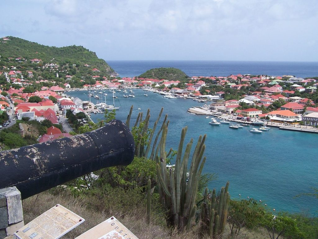Gustavia Harbour St Barthelemy