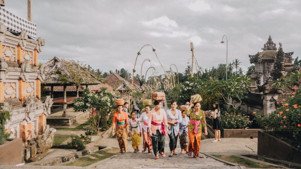 Penglipuran Village Bali, Indonesia