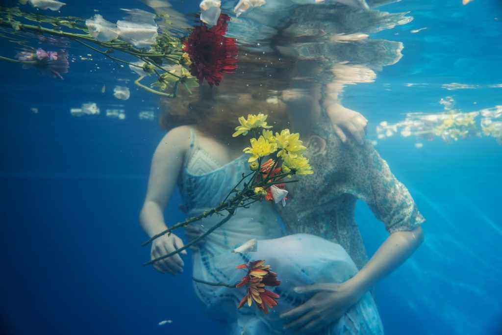 Underwater wedding Cozumel