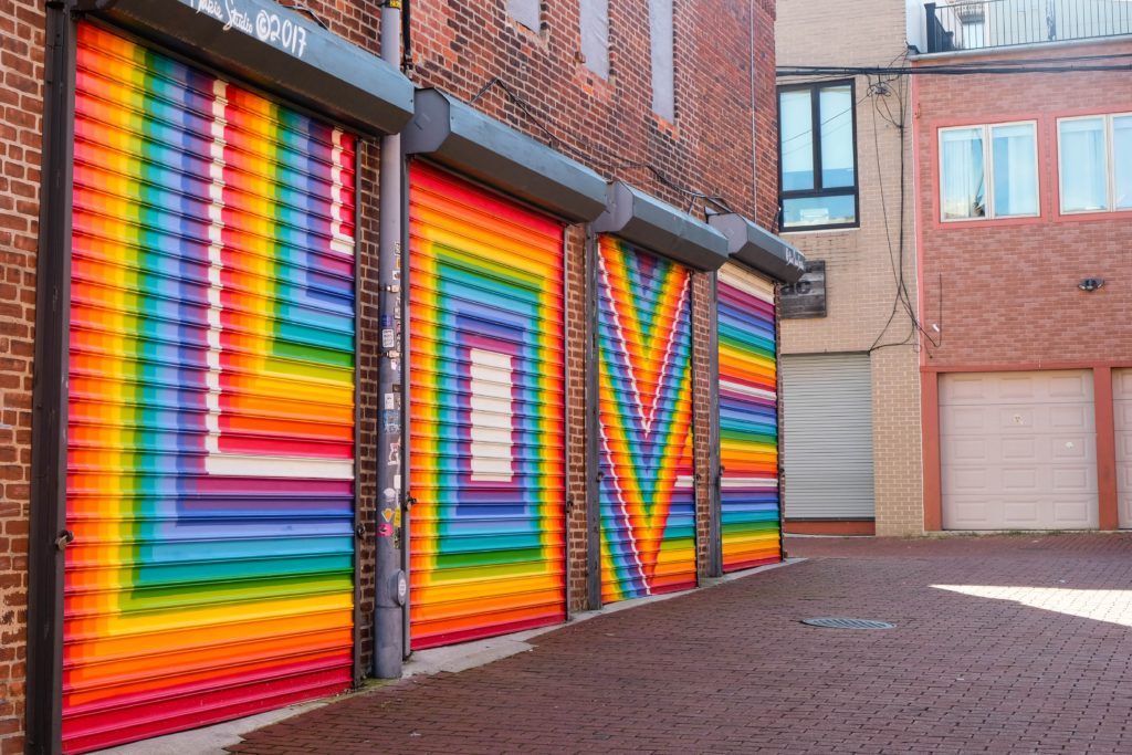 Love Mural, Washington DC