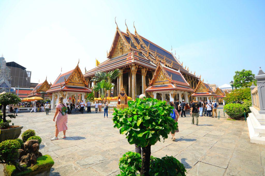 The Grand Palace, Na Phra Lan Road, Phra Borom Maha Ratchawang, Phra Nakhon, Bangkok, Thailand