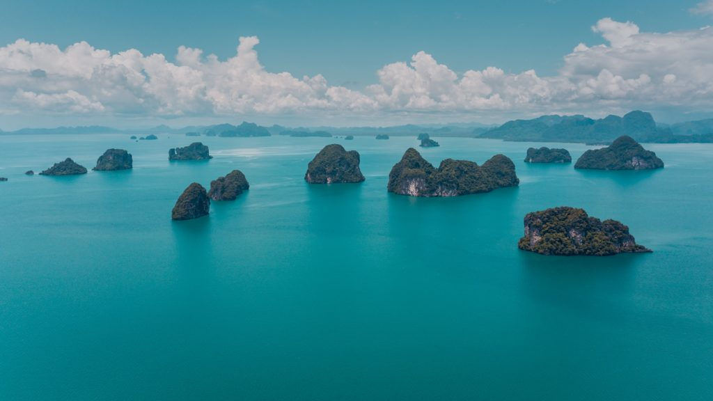 Ocean view, Ko Hong, Thailand