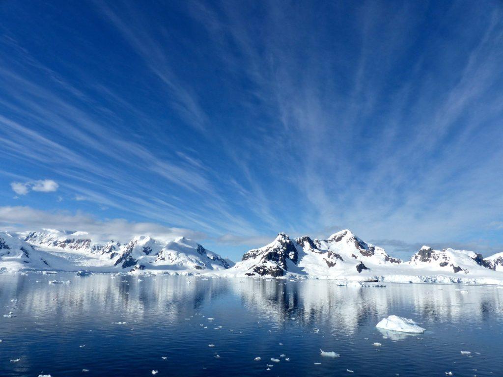 Antarctica honeymoon travel view
