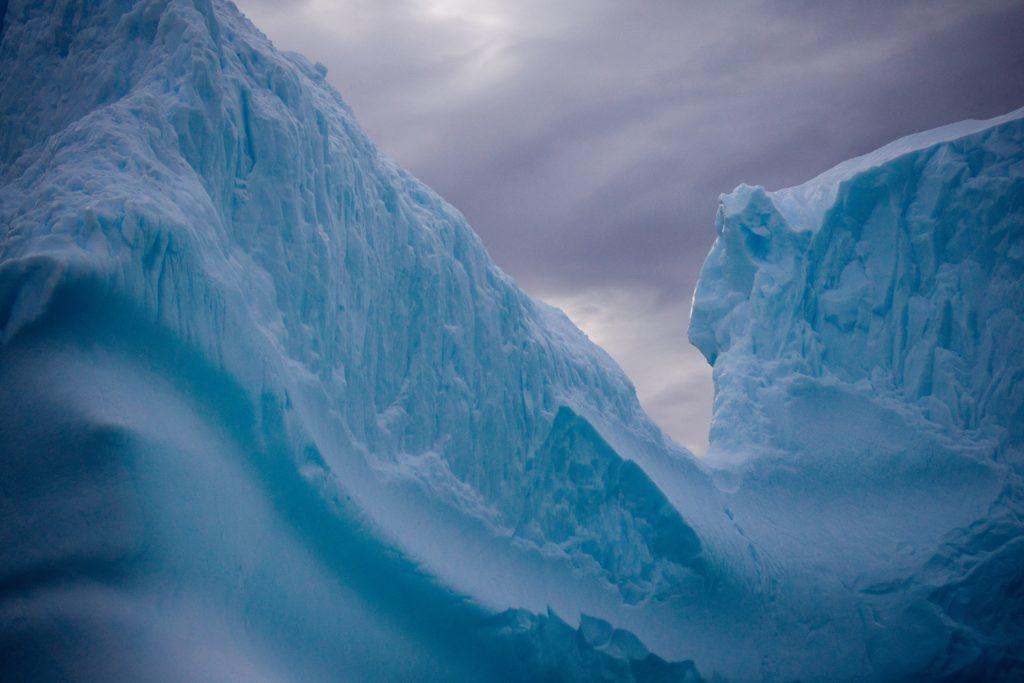 Antarctica honeymoon ice view