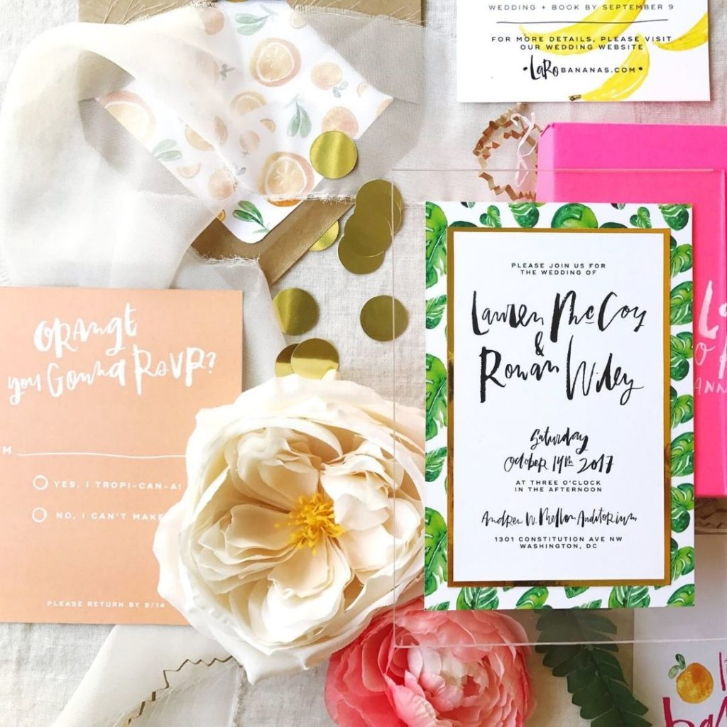 wedding stationery maryland