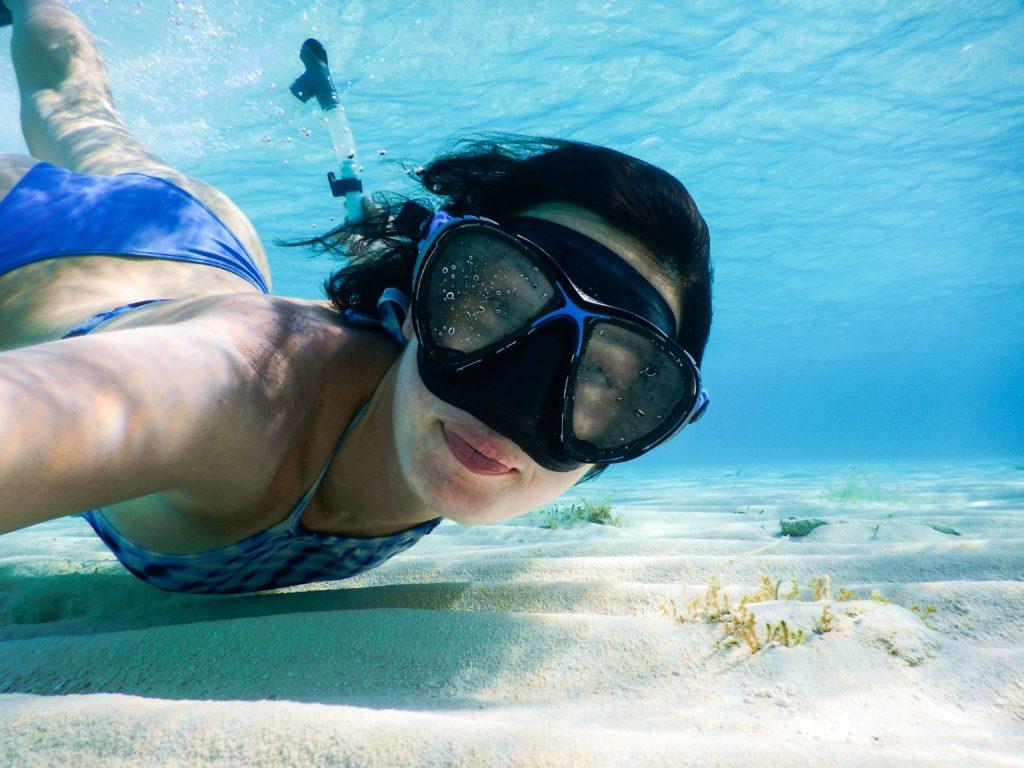 Snorkeling on your Bahamas honeymoon