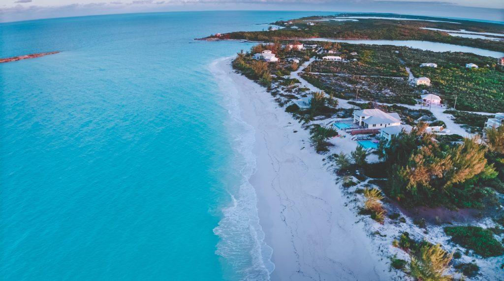Tropic of Cancer Beach, The Bahamas honeymoon