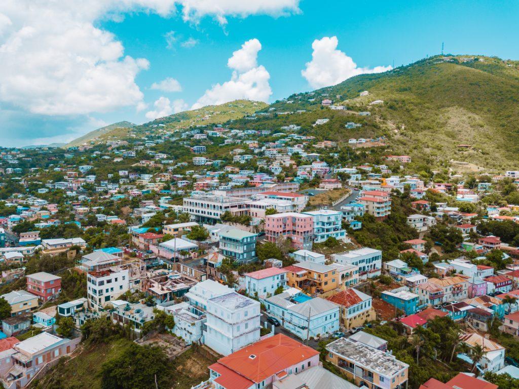 Kronprindsens Gade, Charlotte Amalie, St Thomas, USVI