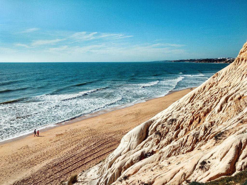 Alfamar Beach, Albufeira, Portugal