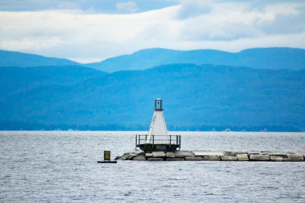 Burlington Breakwater South Lighthouse, Burlington, Vermont
