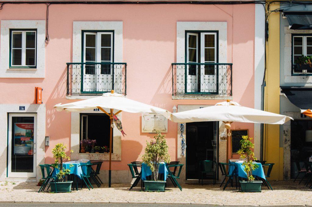 Cafe, Lisbon, Portugal