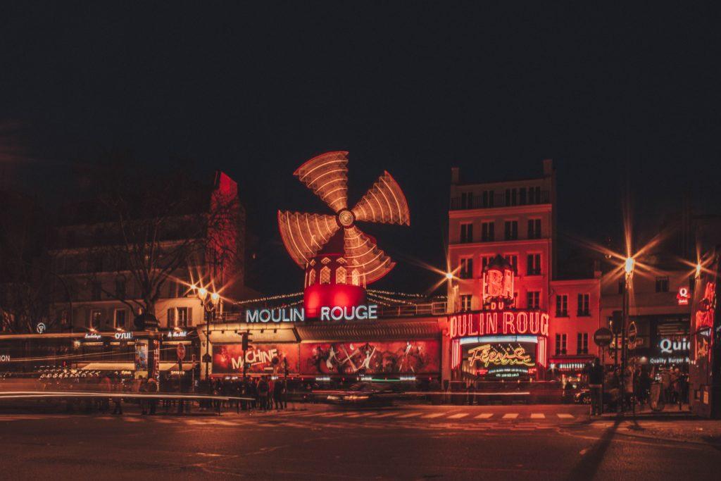 Moulin Rouge, Montmartre, Paris, France